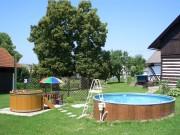 Bazén a Koupací sud
